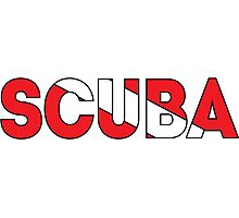 SCUBA Photographic Print