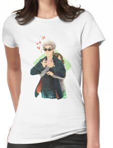 Doctor Who - Clara Charged Womens Fitted T-Shirt