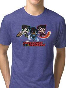 The Powerpuff Benders Tri-blend T-Shirt