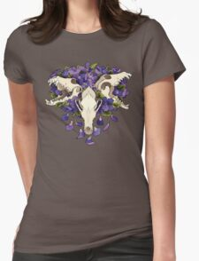 Dog violet- Cerberus Womens Fitted T-Shirt