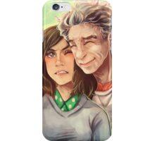 Doctor Who - whouffaldi switch iPhone Case/Skin