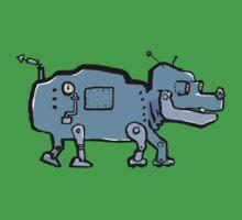 robot dog One Piece - Short Sleeve