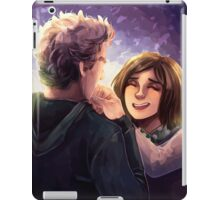 Doctor Who - Whouffaldi Happy iPad Case/Skin