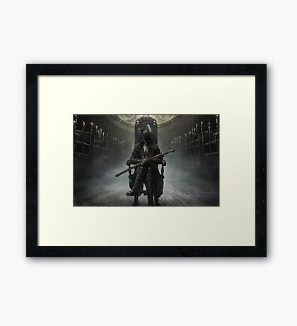 The Old Hunters Framed Print