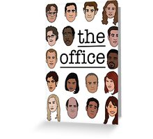 The Office Crew Greeting Card