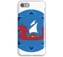 Viking Ship Emblem iPhone Case/Skin