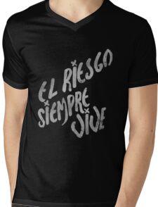 Let's Rock Mens V-Neck T-Shirt