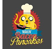 Jake The Dog Making Bacon Pancakes Photographic Print