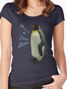 Who's a Cool Dude Women's Fitted Scoop T-Shirt