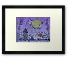 Purple Mist Framed Print