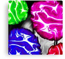 PARTY BRAIN - PART TWO Canvas Print