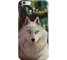 Wolf Princess in the Forest iPhone Case/Skin