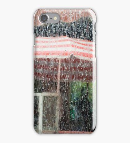 Raining mud in the Atlas Mountains iPhone Case/Skin