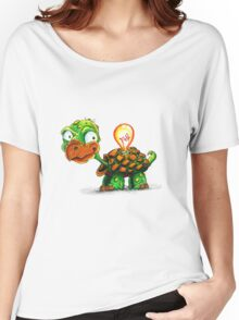 A Bright Turtle Women's Relaxed Fit T-Shirt