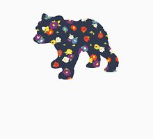 Floral Bear Cub Women's Relaxed Fit T-Shirt