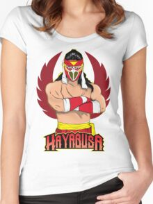 Hayabusa FMW Forever  Women's Fitted Scoop T-Shirt
