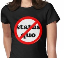 NO Status Quo (rb2) Womens Fitted T-Shirt