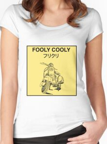 FLCL - Vespa Women's Fitted Scoop T-Shirt