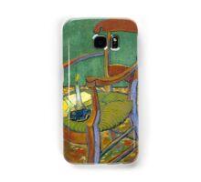 1888-Vincent van Gogh-Gauguin's chair-72,5x90,3 Samsung Galaxy Case/Skin