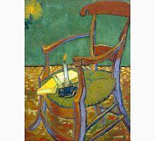 1888-Vincent van Gogh-Gauguin's chair-72,5x90,3 Unisex T-Shirt