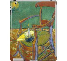 1888-Vincent van Gogh-Gauguin's chair-72,5x90,3 iPad Case/Skin