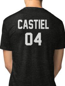 Supernatural Jersey (Castiel Novak) Tri-blend T-Shirt