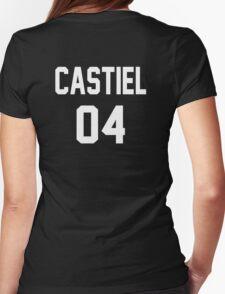 Supernatural Jersey (Castiel Novak) Womens Fitted T-Shirt