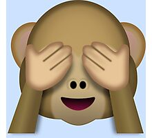 emoji monkey Photographic Print