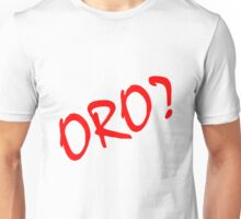 Rurouni Kenshin Oro? Red Unisex T-Shirt