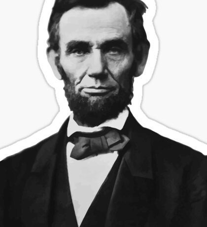 President Abraham Lincoln Sticker