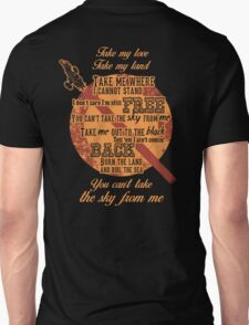 Firefly Ballad of Serenity - Can't Take the Sky T-Shirt