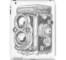 old machine iPad Case/Skin
