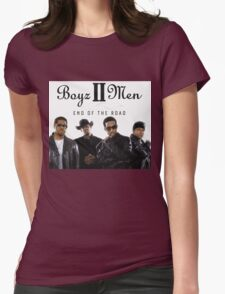 Boys 2 Men - End of The Road Womens Fitted T-Shirt