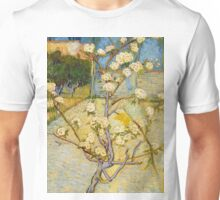 1888-Vincent van Gogh-Small pear tree in blossom-46x73 Unisex T-Shirt