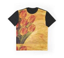 Pattern Flowers Graphic T-Shirt