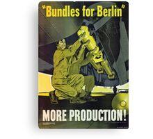 Bundles for Berlin Canvas Print