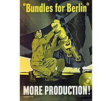 Bundles for Berlin Photographic Print