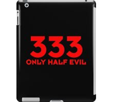 333 dr iPad Case/Skin