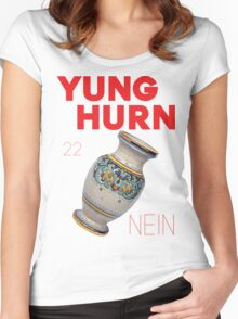 Yung Hurn (Nein) Women's Fitted Scoop T-Shirt