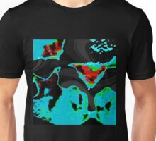 ABSTRACT DISCS - PART ONE Unisex T-Shirt