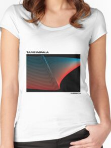 TAME IMPALA CURRENTS Women's Fitted Scoop T-Shirt