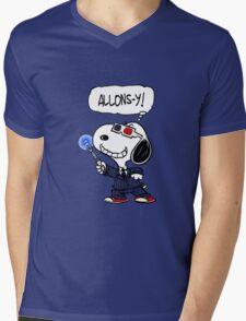 Allons-y Mens V-Neck T-Shirt