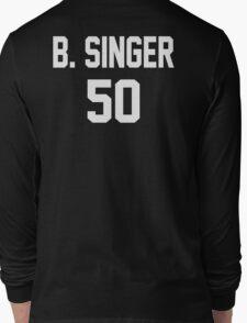 Supernatural Jersey (Bobby Singer) Long Sleeve T-Shirt
