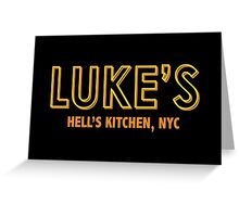 Luke Cage's Bar, Hell's Kitchen Greeting Card