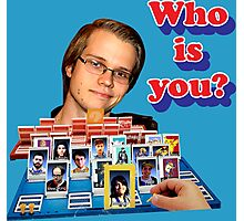 Who is you? Armada SSBM Guess who Photographic Print
