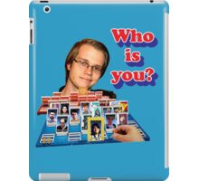Who is you? Armada SSBM Guess who iPad Case/Skin