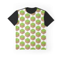 Grass & Dirt Block (Game) Graphic T-Shirt