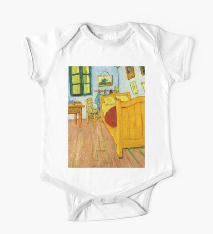 1888-Vincent van Gogh-The Bedroom-72x90 One Piece - Short Sleeve