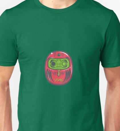Daruma Doll Zombie Unisex T-Shirt