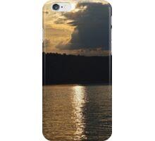 Sunset at Solina Lake iPhone Case/Skin